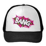 Bang Cartoon Pow Zap Cap