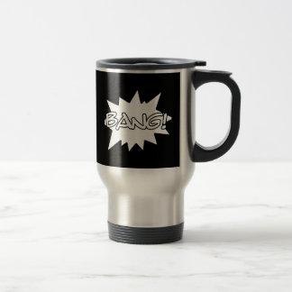 bang comic hero sounds loud actions mug