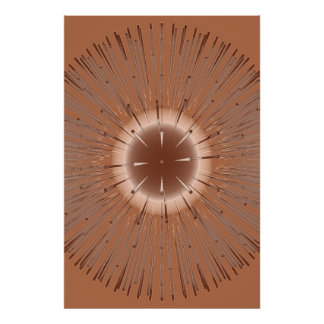Bang Copper {print} Poster
