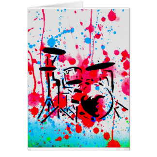 Bang the Drums Card