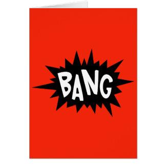 Bang! - You just hit 30 dude Birthday card