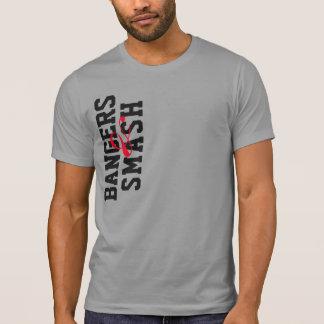 Bangers and smash t-shirt play on bangers and mash