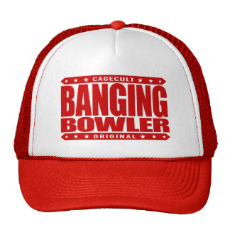 BANGING BOWLER - I Knock 'em Dead in Perfect Games Cap