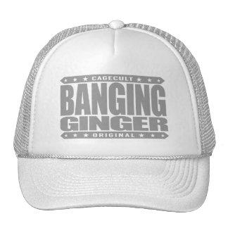 BANGING GINGER - I'm Fiery Savage Phoenix Rising Cap