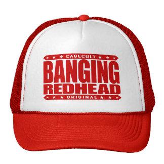 BANGING REDHEAD - I'm Savage Fiery Phoenix Rising Cap