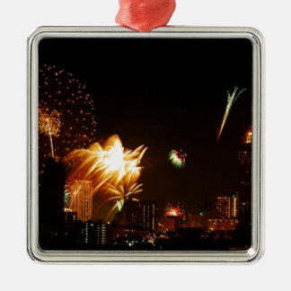 Bangkok fireworks christmas ornament