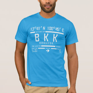Bangkok International Airport Code T-Shirt