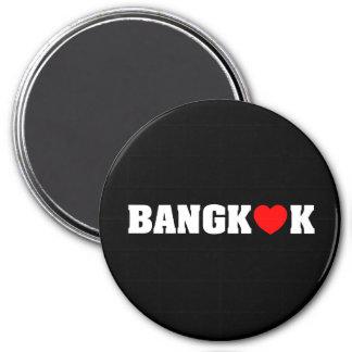 BANGKOK LOVE 7.5 CM ROUND MAGNET