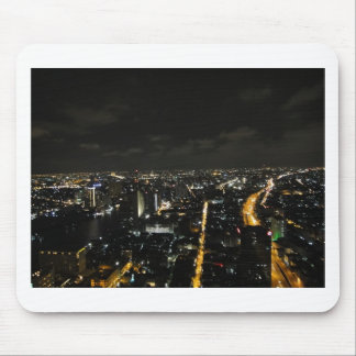 Bangkok night lights mouse pad