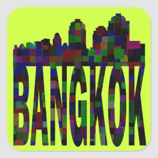Bangkok Square Sticker
