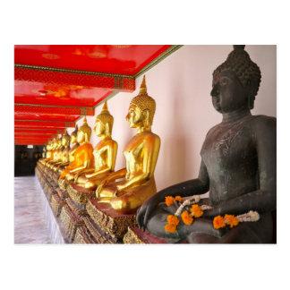 bangkok temple postcard