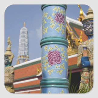 Bangkok, Thailand. Bangkok's Grand Palace 2 Square Sticker