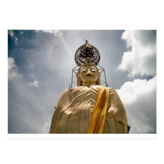 Bangkok Thailand Big Buddha Postcard