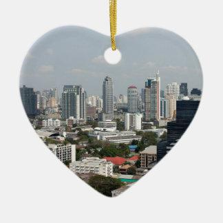 Bangkok, Thailand. Ceramic Heart Decoration