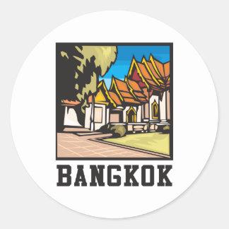 Bangkok Thailand Classic Round Sticker