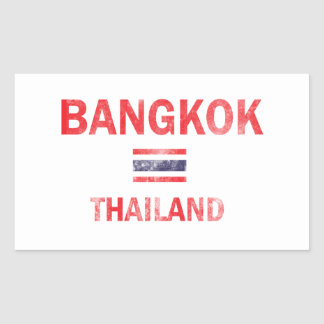 Bangkok Thailand designs Rectangular Sticker