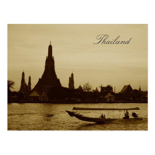 Bangkok, Thailand Post Card