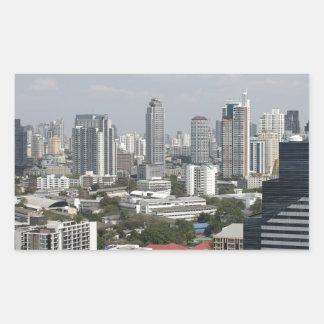 Bangkok, Thailand. Rectangular Sticker
