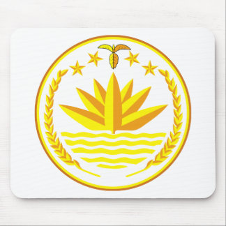 Bangladesh  Coat of arms BD Mouse Mat