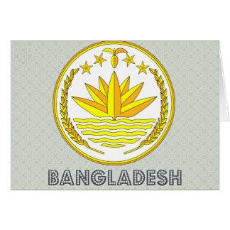Bangladesh Coat of Arms Greeting Cards