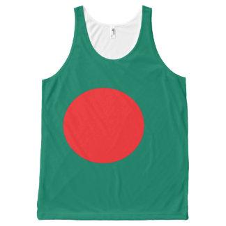 Bangladesh flag All-Over print tank top