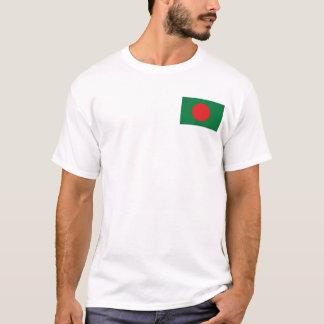 Bangladesh Flag and Map T-Shirt