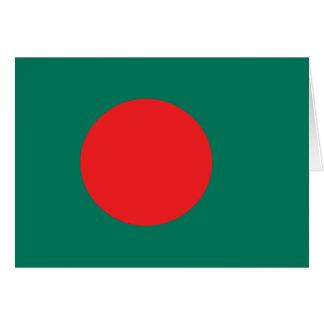 Bangladesh flag card