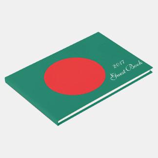 Bangladesh flag guest book