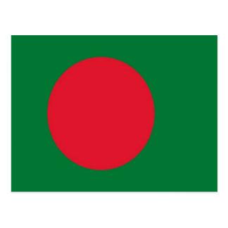 Bangladesh Flag Postcard