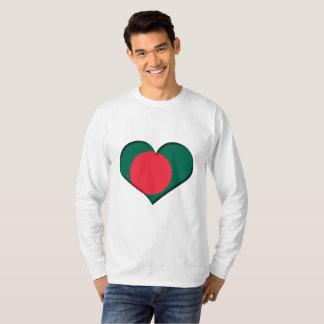 Bangladesh Heart Flag T-Shirt