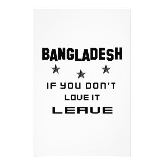 Bangladesh If you don't love it, Leave Customised Stationery
