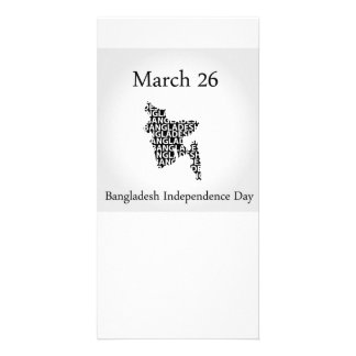 Bangladesh Independence day- March 26 Personalised Photo Card