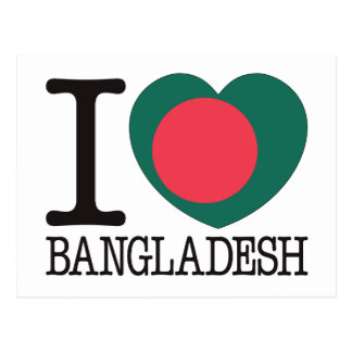 Bangladesh Love v2 Postcard