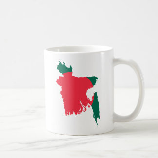 Bangladesh map BD Coffee Mug