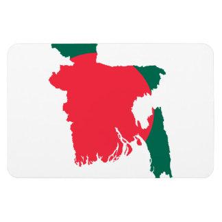 BANGLADESH MAP VINYL MAGNETS
