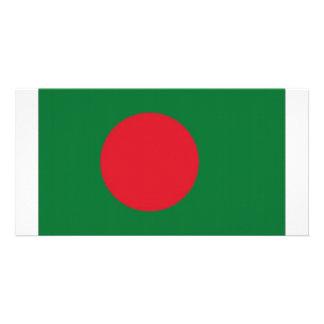 Bangladesh National Flag Custom Photo Card
