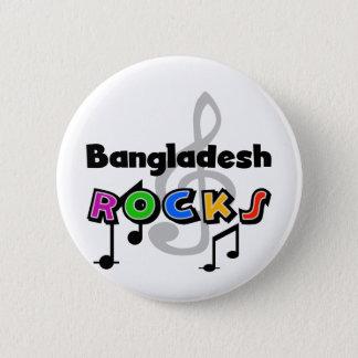 Bangladesh Rocks 6 Cm Round Badge