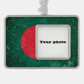 Bangladesh Silver Plated Framed Ornament