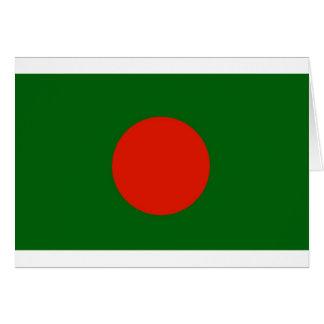 Bangladeshi Flag Greeting Card