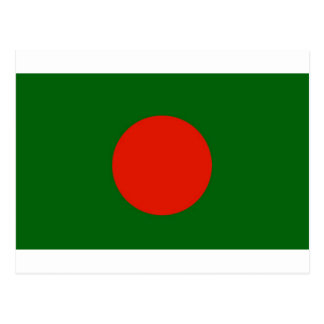 Bangladeshi Flag Postcard