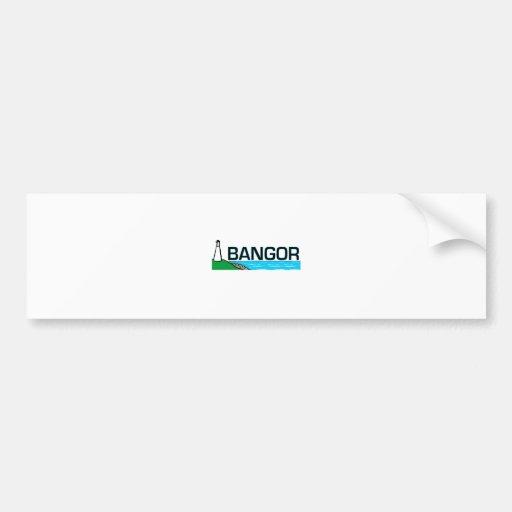 Bangor, Maine Bumper Sticker
