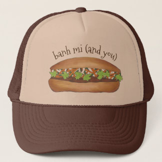Banh Mi (Me and You) Vietnamese Food Pork Sandwich Trucker Hat