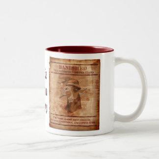 Banish Drama Llamas - 15oz 2-tone Mug