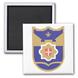 Banja Luka Coat of Arms Square Magnet