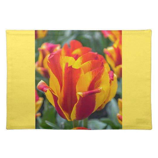 Banja Luka tulips placemat
