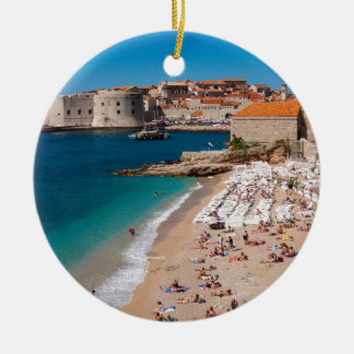 Banje Beach Christmas Ornament