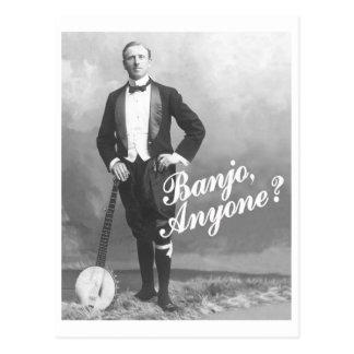 Banjo Anyone Postcard