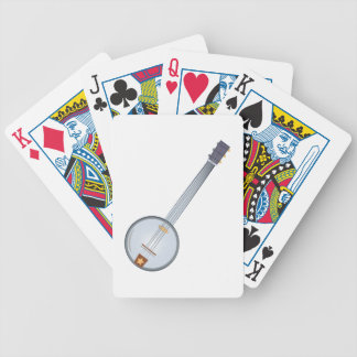 Banjo Bicycle Playing Cards
