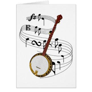 Banjo Card
