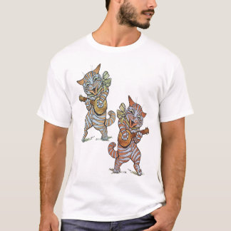 Banjo Cats T Shirt